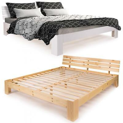 wei es bett kiefer massiv futonbett 120x200 rollrost matratze w m eur 279 95. Black Bedroom Furniture Sets. Home Design Ideas