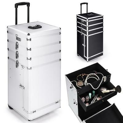 Trolley Kosmetikkoffer Schminkkoffer Friseursalon Schmuck Beauty Case Box Makeup