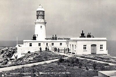 rp15121 - Round Island Lighthouse , Scilly Isles - photo 6x4