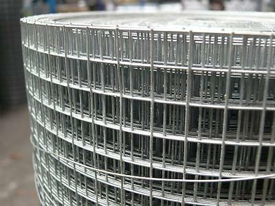 "Galvanised Welded Wire Mesh 36"" x 1/2"" x 1/2"" x 30mtr"