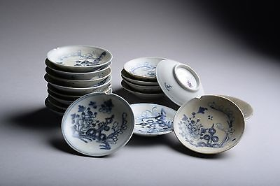 Small Tek Sing Shipwreck Salvaged Antique Chinese Flower Plate - 1822