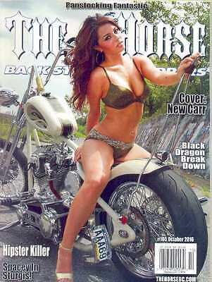 THE HORSE BACKSTREET CHOPPERS No165 Oct 2016 (NEW) *Post included EU/USA