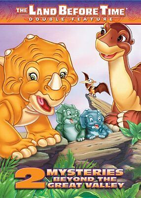 Land Before Time: 2 Mysteries Beyond the Great Valley (DVD, 2005)FULL SCREEN-NEW