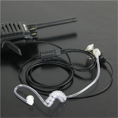 2Pin Headset Earpiece for Kenwood Baofeng  Bouncer Radio Walkie Talkie UK Seller