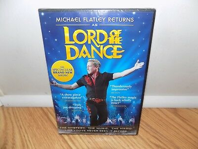 Lord of the Dance (DVD, 2011) Michael Fatley BRAND NEW SEALED!