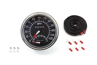 Speedometer with 2240:60 Ratio and Tachometer, EA,for Harley Davidson motorcycle