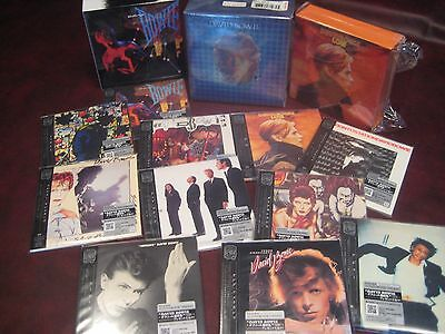 David Bowie Low & Let's Dance Japan Replica Obi Cd Boxes + Bonus Collectors Box