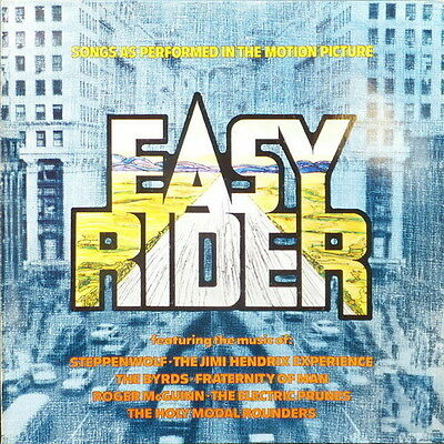 """12"""" Soundtrack Album Easy Rider (Don`t Bogart Me, Born To Be Wild, The Pusher)"""