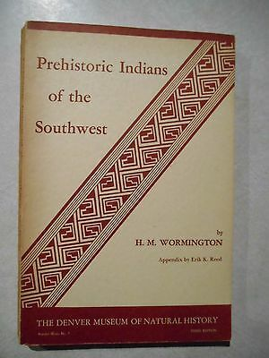 Prehistoric Indians of the Southweat