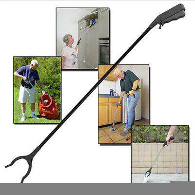 Extra Long Arm Extension Reacher Grabber Easy Reach Pick Up Tool New