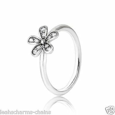 DAZZLING DAISY RING sterling silver 925 FREE GIFT BOX STERLING SILVER hallmarked