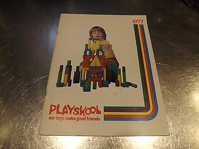 1977 PLAYSKOOL Fair Catalog 44 Pages Richard Scary, Lincoln Logs, Disney, Etc