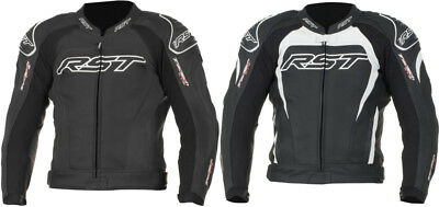 RST Mens Tractech Evo II Armored Leather Sport Motorcycle Riding Jacket
