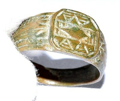 Superb Post-Medieval Ring - 'eye Of Providence' Motif - Historical Gift - Op99