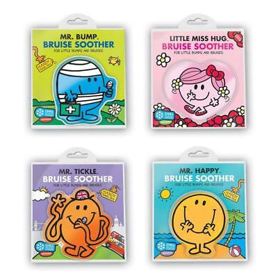 Mr Men Bruise Soother Cooling Gel Pack Cold Bump Tickle Little Miss First Aid