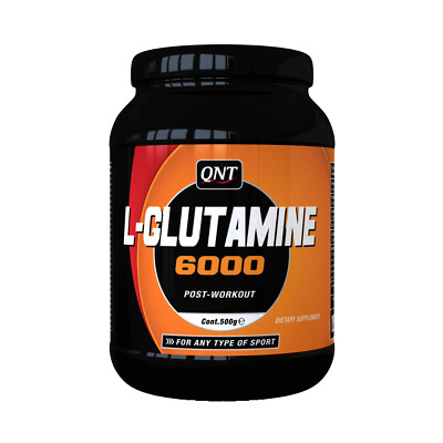 (50,50€/1kg) QNT L-Glutamine 6000 Post Workout - 100% Pure; 500g