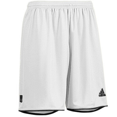 Adidas Mens Parma Football Training Shorts White Gym Sport S M L XL XXL B Grade