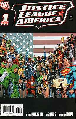 Justice League Of America #1 (NM)`06 Meltzer/ Benes  (2nd Print)