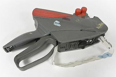 Meto Price Tag Sticker Gun - Gray/Red