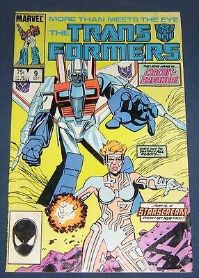 Transformers #9  Oct 1985
