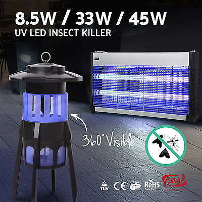 Insect Killer Bug Zapper Fly Trap Trapper Mosquito Pest Catcher Electric UV-A