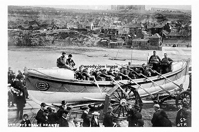 pt4624 - Whitby , Lifeboat c1906 , Yorkshire - photo 6x4