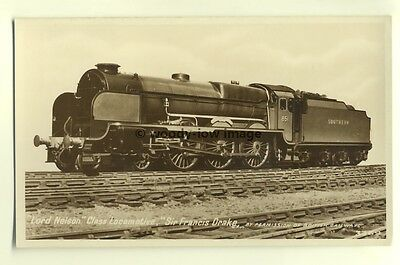 ry405 - Southern Railway Engine no 851 Sir Francis Drake - postcard