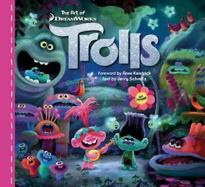 The Art of Trolls by Jerry Schmitz Hardcover Book (English)