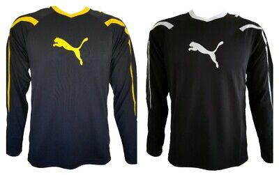 BOYS' NEW PUMA LONG SLEEVE T-SHIRT TRAINING TOP SPORTS JERSEY AGES 6 to 16