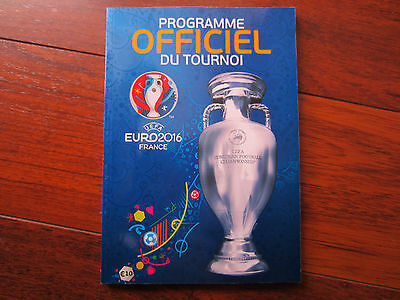 2016 Uefa Euro 2016 French Language Official Tournament Brochure