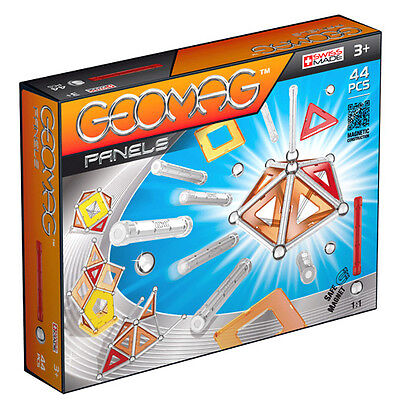 New Geomag Panels Magnetic Construction Set - 44 Pieces