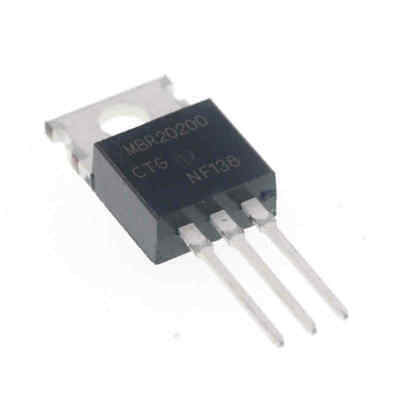 2PCS MBR20200CT 20A 200V Dual High-Voltage Power Schottky Rectifier TO-220