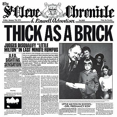JETHRO TULL - THICK AS A BRICK (Steven Wilson 2012 Remix): CD ALBUM (2015)