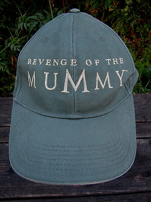 Revenge of the Mummy Movie Apparel Hat Universal Adjustable Embroidered