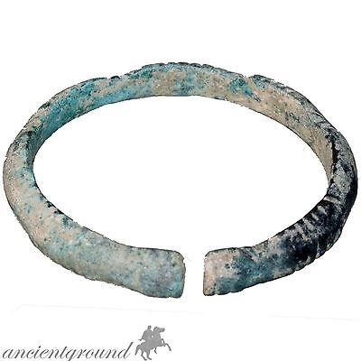 Intact Near Eastern Greco Bactrian Bronze Bracelet 250-150 Bc Era