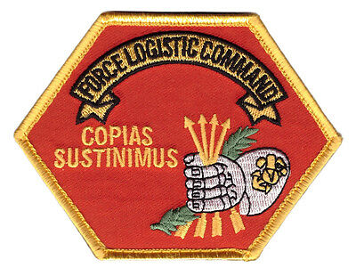 MARINES USMC Force Logistic Command TACTICAL MORALE MARINE  HOOK PATCH