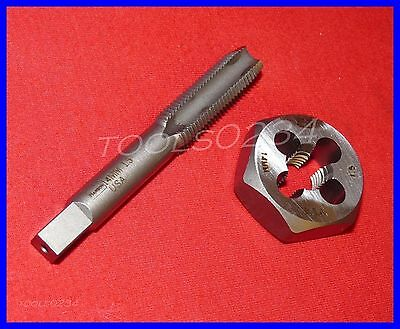 Irwin 1750 6950ZR M14 X 1.50 Metric 14MM CS Plug Tap Hex Die Combo 4FL USA Made