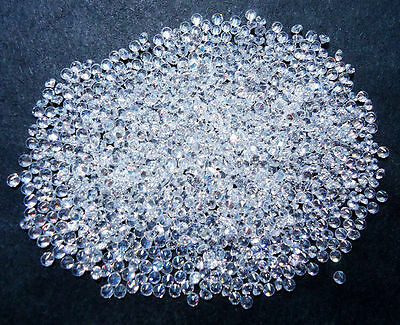 Cubic Zirconia Crystal Clear White Round AAA Wholesale Loose Stones (1mm-20mm)