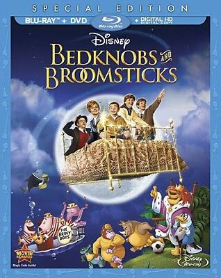 Bedknobs and Broomsticks [New Blu-ray] With DVD, Special Edition, Subtitled, A