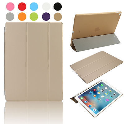 Luxe Slim stand Genuine Leather Smart Case Cover pour Apple iPad Pro 12,9 pouces