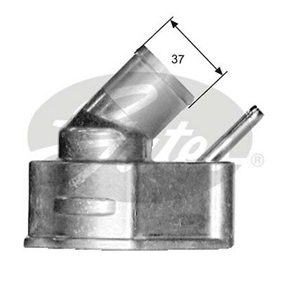 Gates Thermostat, coolant TH14982G1 for OPEL ASTRA 1.8 ltr