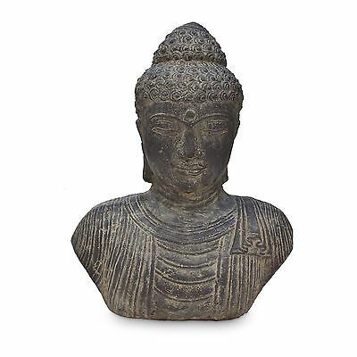 m nch tempel buddha figur shaolin skulptur lavasand asien. Black Bedroom Furniture Sets. Home Design Ideas
