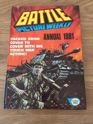 Battle Picture Weekly Annual 1981