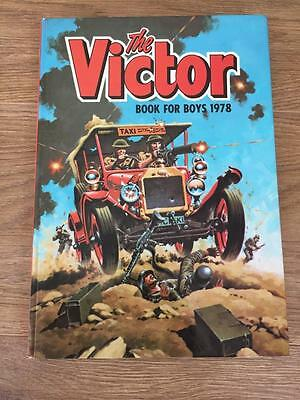 The Victor Book For Boys Annual 1978