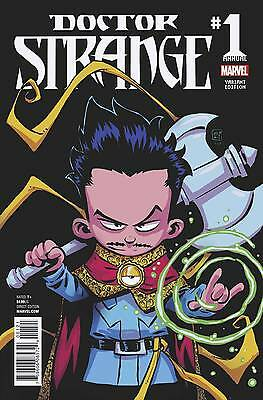 DOCTOR STRANGE ANNUAL #1 YOUNG VARIANT (Marvel 2016 1st Print)