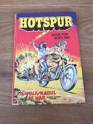 The Hotspur Book For Boys Annual 1981