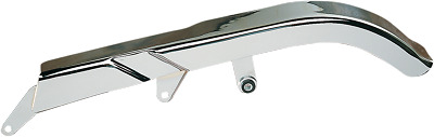 Drag specialties chrome rear upper belt guard for 84-99 Harley Davidson Softail