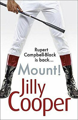 Mount! by Jilly Cooper Book The Cheap Fast Free Post