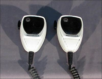 Lot Of 2 Motorola Hmn1090C Radio Microphones