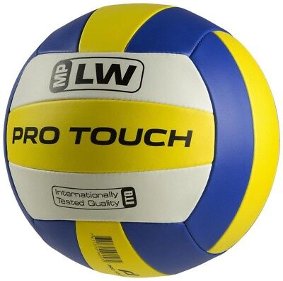 PRO TOUCH Volleyball MP-LW Size 5 blue/yellow/white